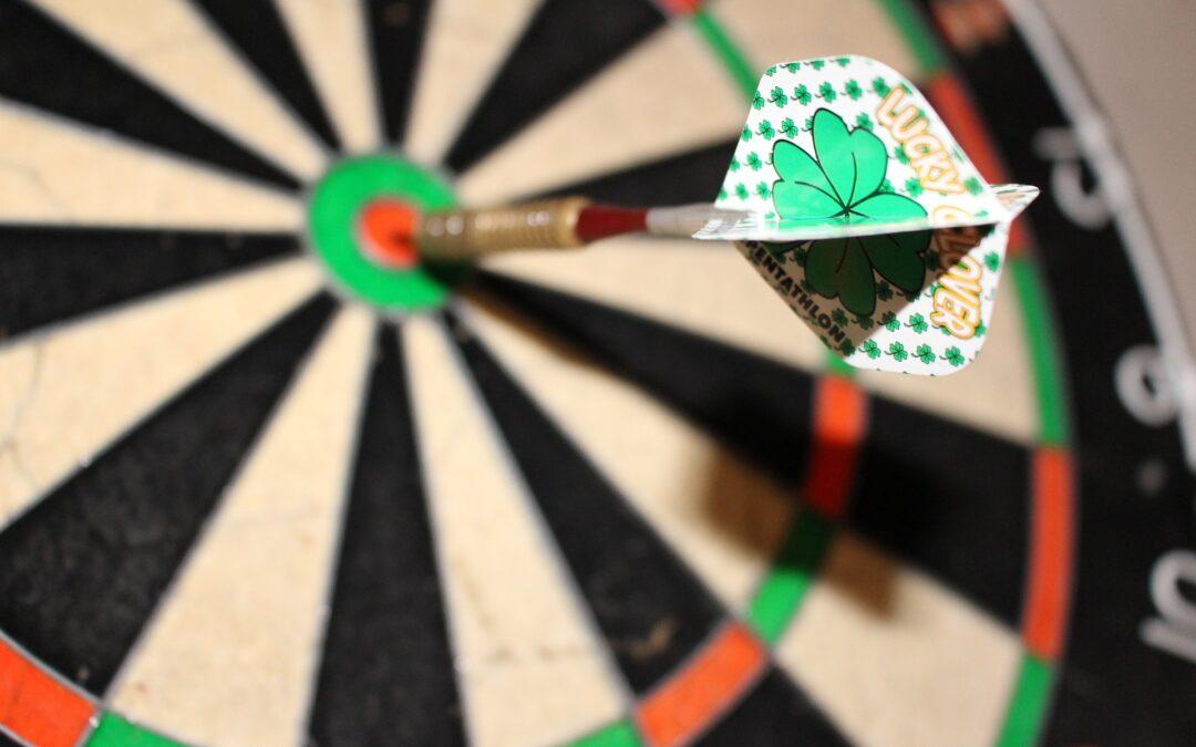 Hoe een dartbord je van je faalangst af kan helpen